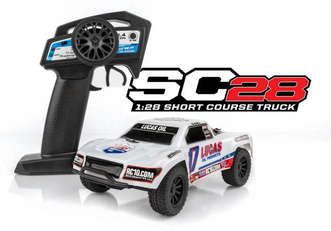 Main Photo: New Team Associated SC28 RTR micro short course truck [VIDEO]