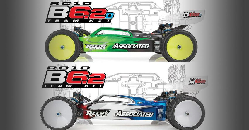 Main Photo: Team Associated Unveils New B6.2 and B6.2D 2wd Buggies