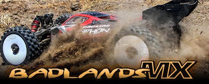 Main Photo: New Pro-Line Badlands MX 1/8 Tire and Pomona Drag Spec SC Wheels