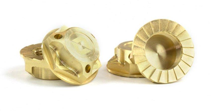 Main Photo: New Avid RC Triad 17mm Brass Capped Wheel Nuts