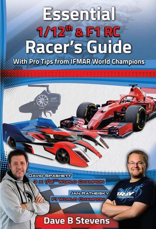 Main Photo: New 'Essential 1/12th & F1 RC Racer's Guide' Book