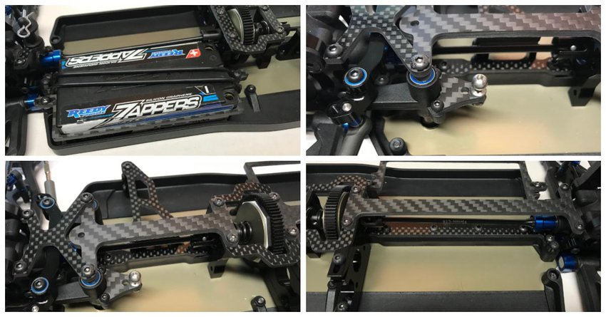 Main Photo: New Darkside Designs B74 Carbon Fiber Options