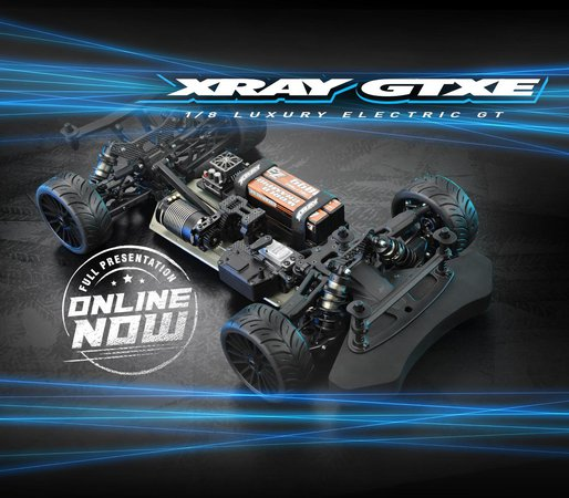 Main Photo: Xray GTXE Presentation Announcement