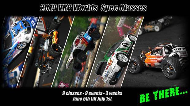Main Photo: VRC Pro Announces 2019 Spec Class Worlds