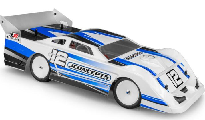 Main Photo: New JConcepts L8 Night 1/10 Late Model Body