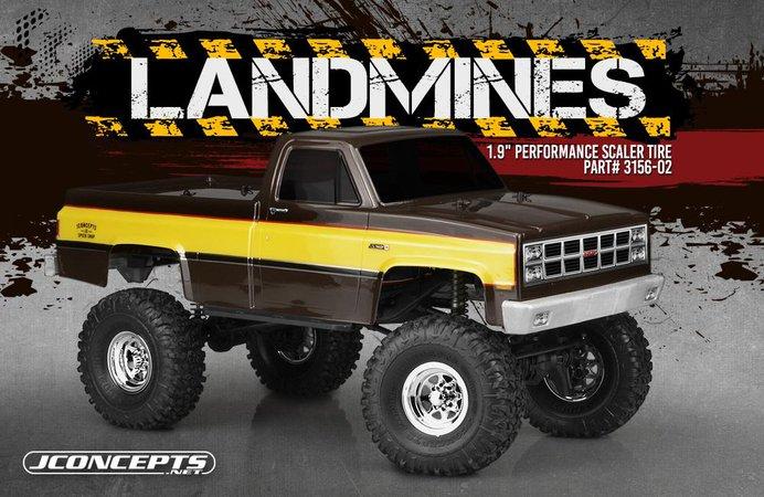 Main Photo: New JConcepts Landmines 1.9 Performance Scaler Tire