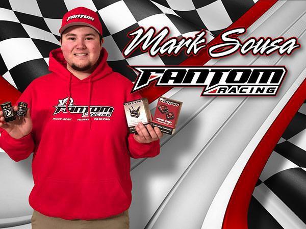 Main Photo: Fantom Racing Signs Mark Sousa