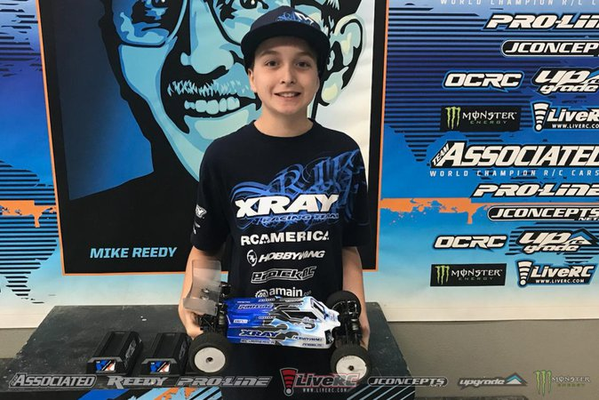 Main Photo: REEDY: Jelin wrapped up Open 4WD TQ with fastest time in final round [VIDEO]