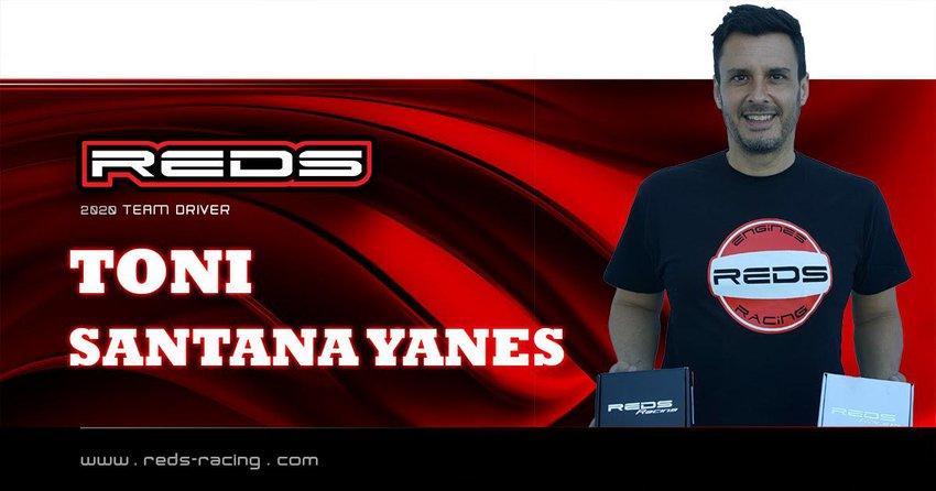 Main Photo: Santana Continues with REDS Racing