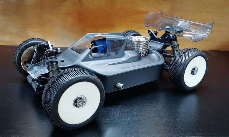 Main Photo: New LFR A2.1 Tactic Body and Front Scoop for the Tekno NB48 2.0