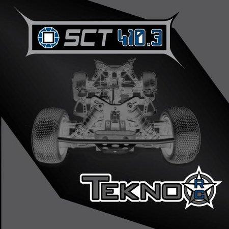 Main Photo: Tekno RC's official SCT410.3 announcement