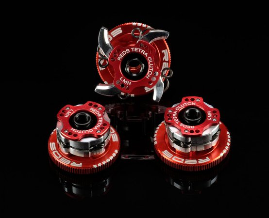 Main Photo: New Reds Racing V2.1 Tetra Clutch Scuderia Edition