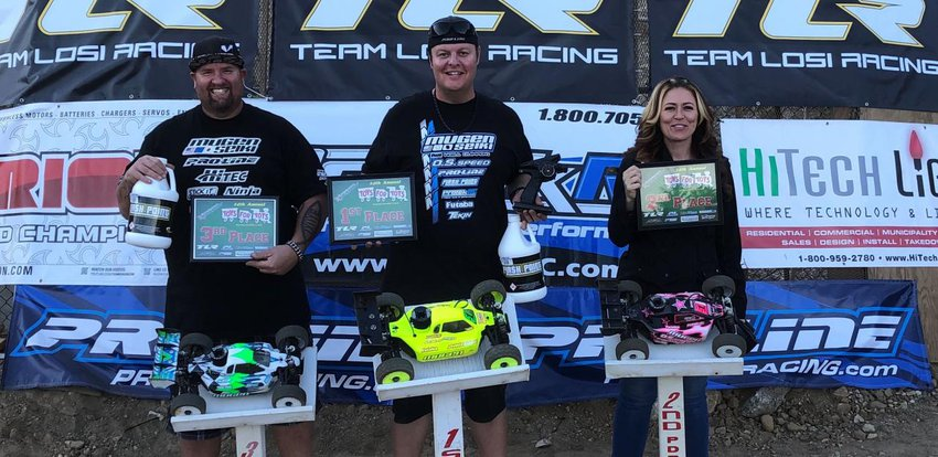 Main Photo: Mugen Seiki goes 1-2-3 at 14th Palm Desert Annual Toys for Tots Race
