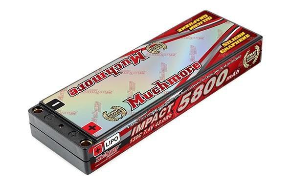 Main Photo: New Muchmore Racing Super LCG IMPACT 5800mAh LiPo Battery