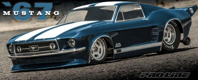Pro-Line 67 Mustang Body 1