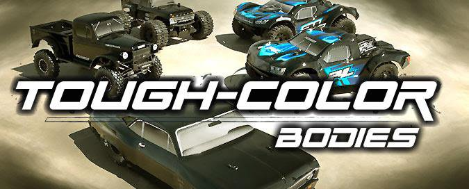 Main Photo: New Pro-Line Tough Color Bodies [VIDEO]