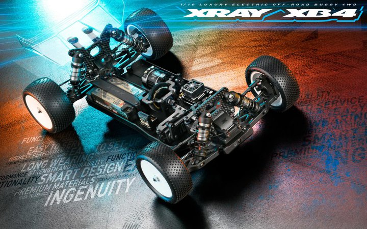 Main Photo: XRAY Unveils the XB4'2020 1/10 4wd Buggy Kit