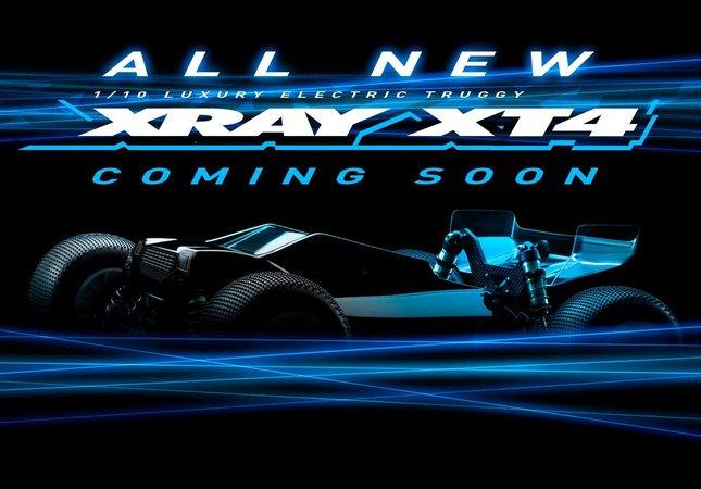 Main Photo: New Xray XT4 Coming Soon.