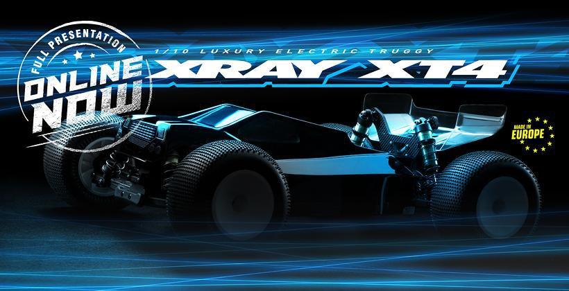 Main Photo: New Xray XT4 Full Presentation
