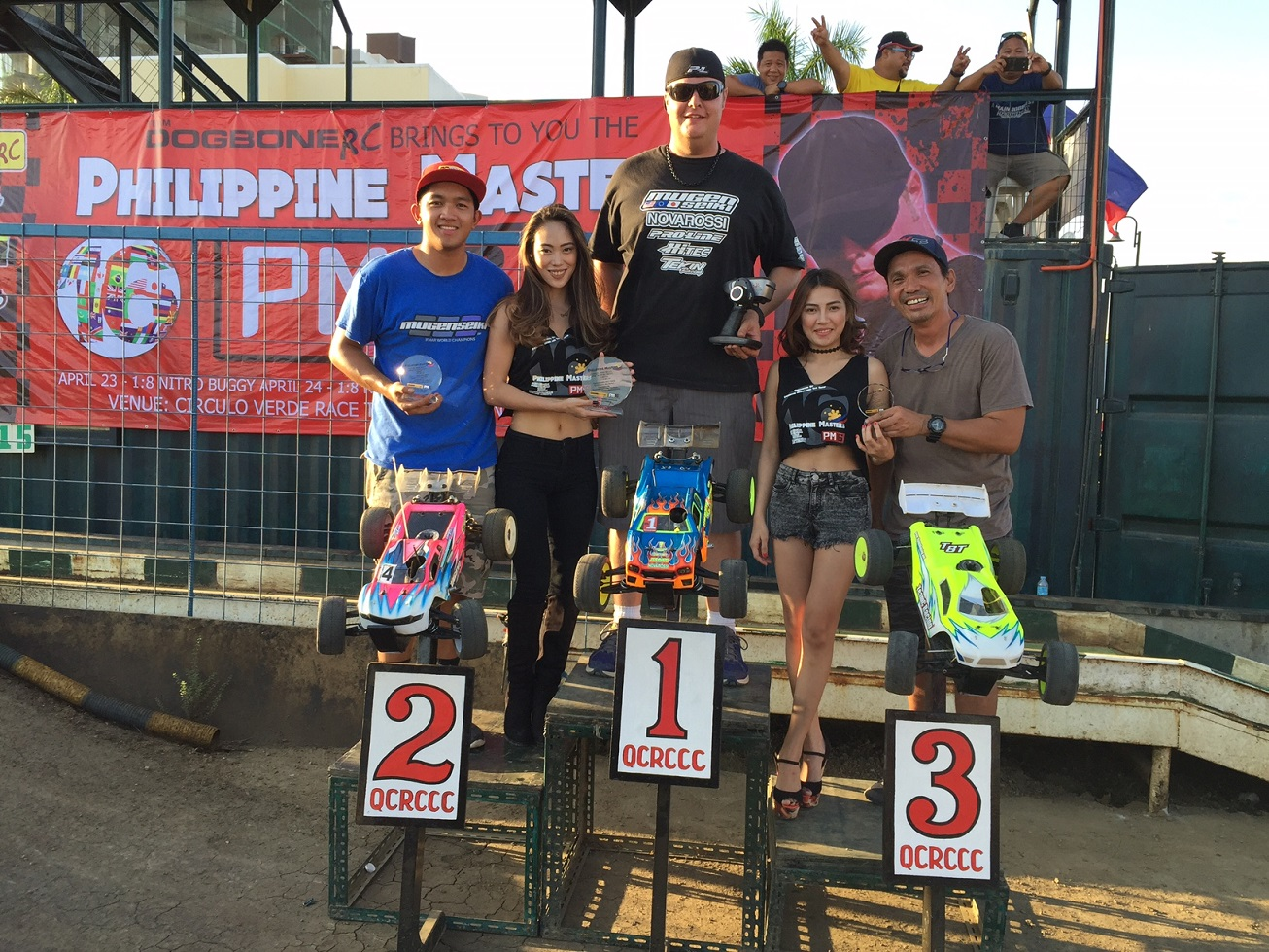 Mugen Seiki and Adam Drake Sweeps 2016 Philippine Masters