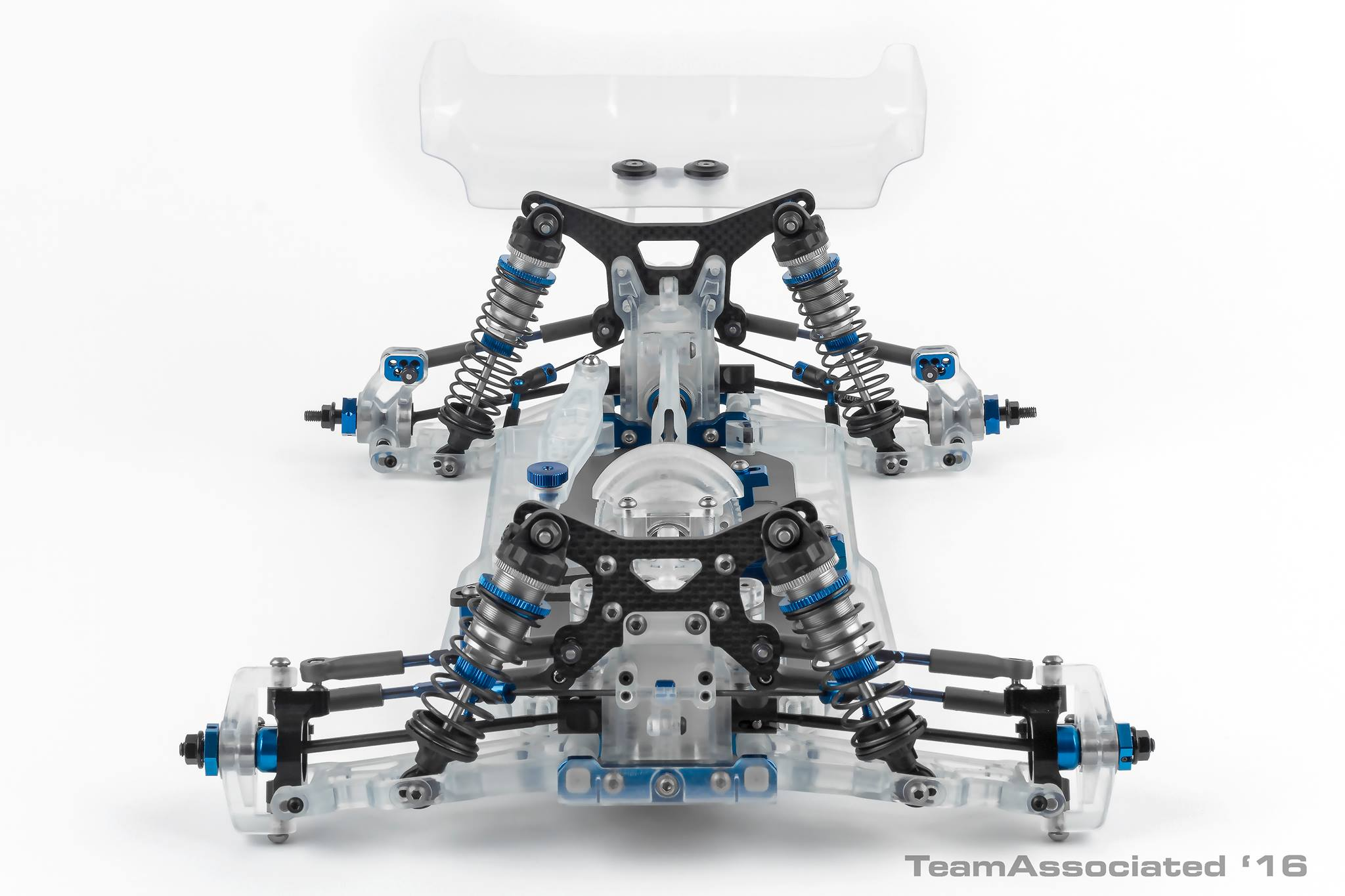 The photo ties to her what we ve discerned from the previous images with long travel front and rear suspension tall carbon fiber shock towers