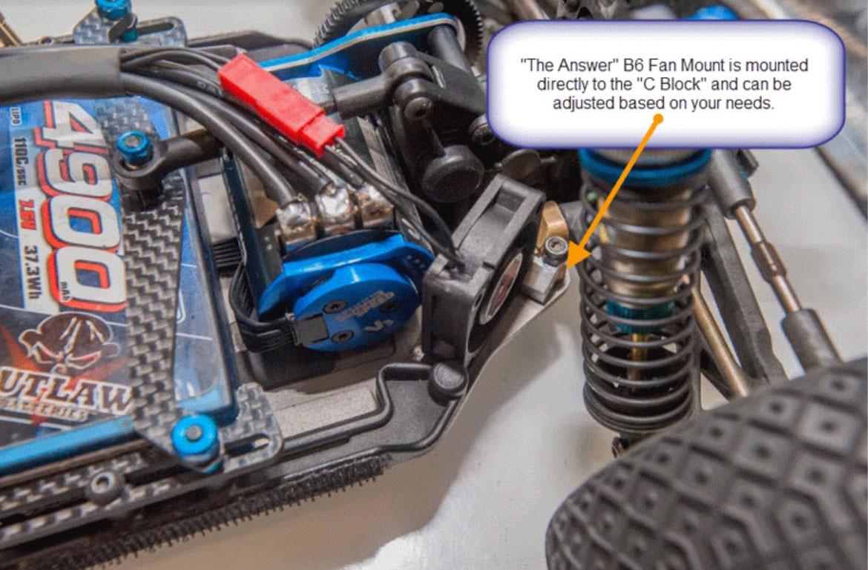 New The Answer B6 Fan Mount From Rc Speed Secrets