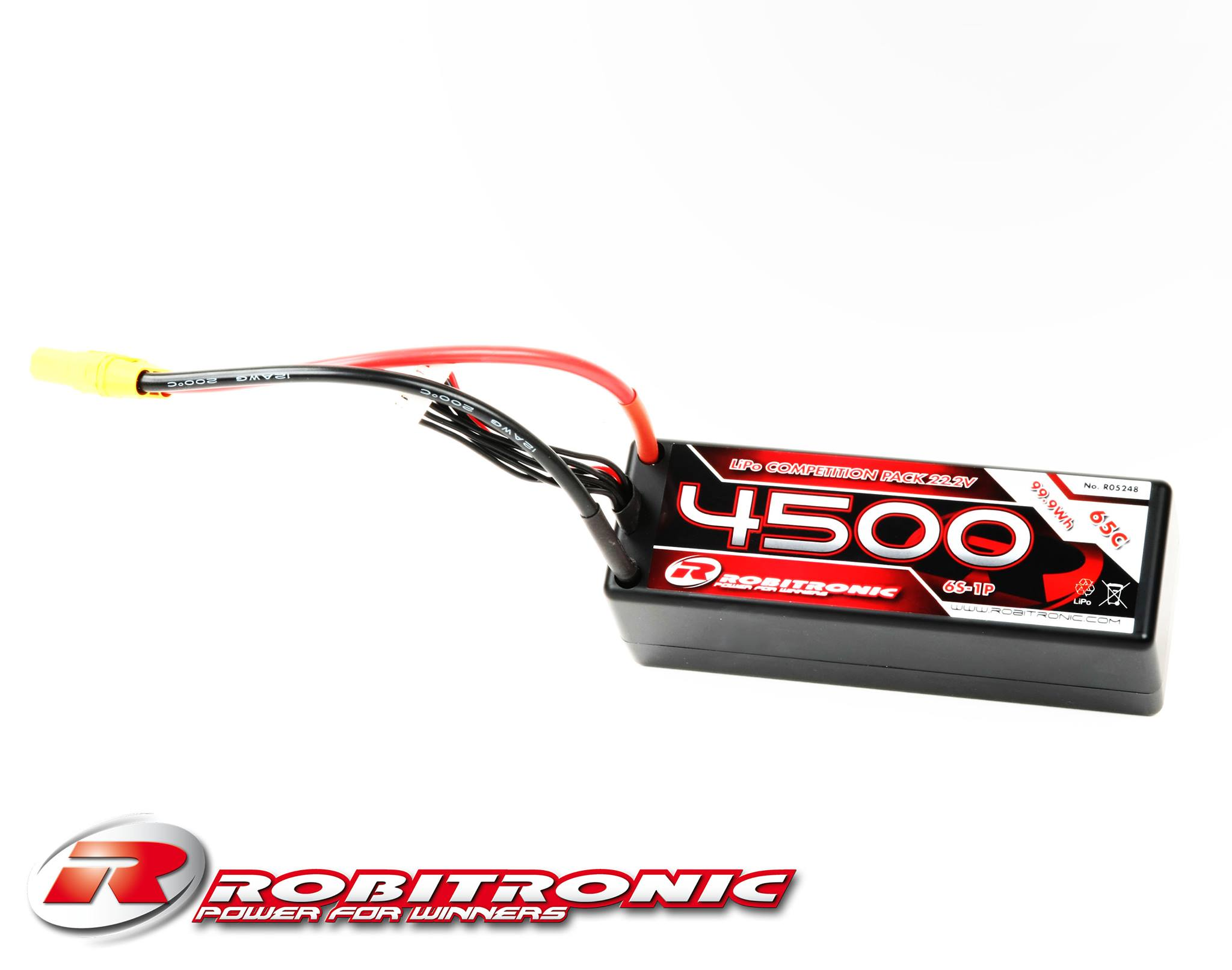 New Robitronic 4s And 6s Competition Lipo Packs Liverc