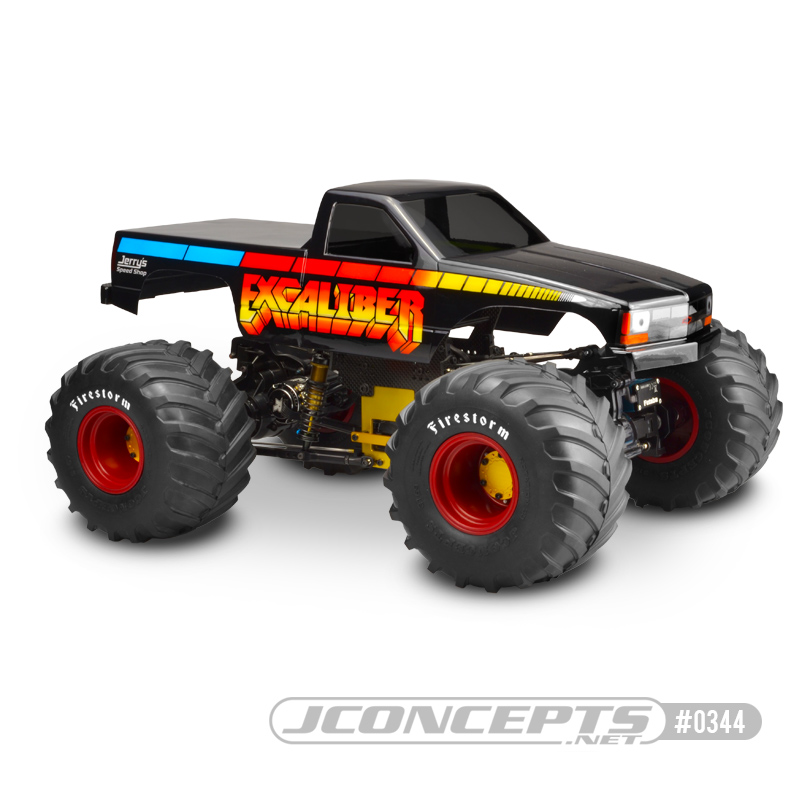 New JConcepts 1988 Chevy Silverado Snoop Nose monster