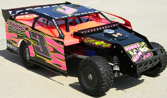 Modified Dirt Car
