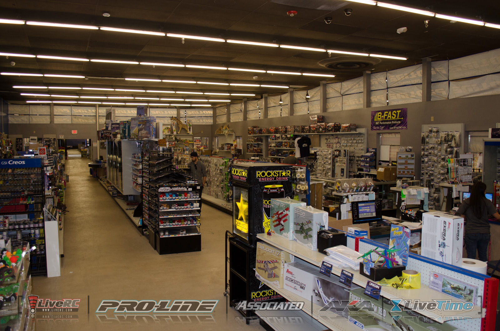 CACTUS: A tour of Hobbytown SRS, Phoenix Indoor Karting ...